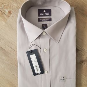 Men's Stafford Button Up dress Shirt